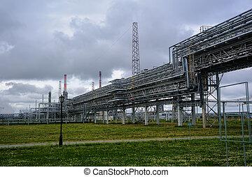 producción, complejo, gas-chemical, polipropileno