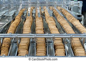producción, galletas