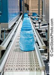 producción, masa, plast