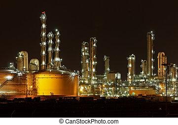producción química, facilidad, en, nig