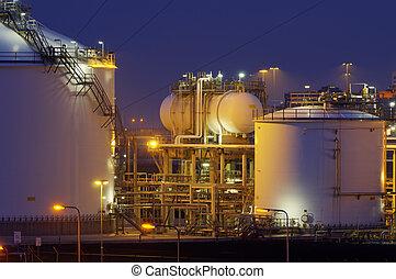 producción química, nig, facilidad