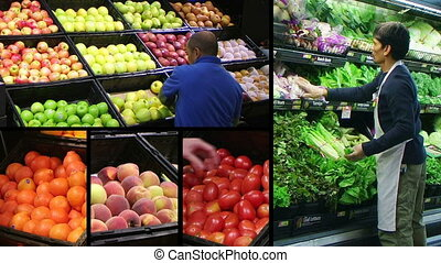 Produce Market Composite