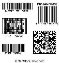 Product Barcode 2d Square Label