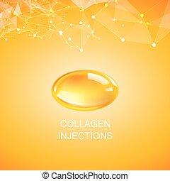 product., collagène, naturel