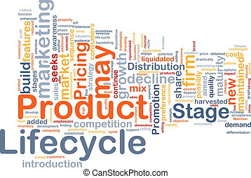 product, concept, lifecycle, achtergrond