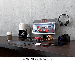Product designer desktop