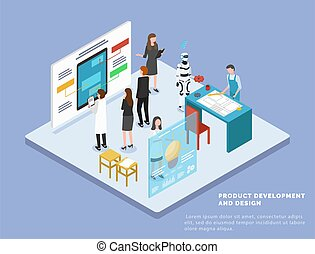 Product Development and Web Design, Manufacturing
