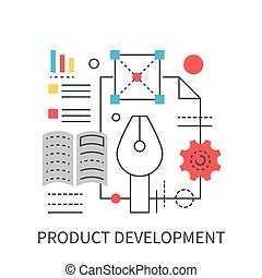 Product development concept.