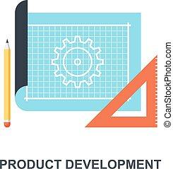 Product Development icon concept