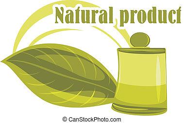 product., disegno, naturale, icona