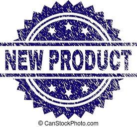 product, grunge, postzegel, textured, zeehondje, nieuw