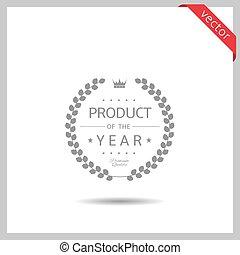 product, jaar, pictogram