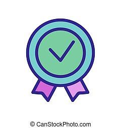 product, jaar, pictogram, schets, best, illustratie, vector