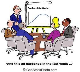product, levenscyclus