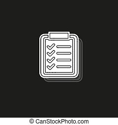 Product Listing concept line icon. Simple and element illustration