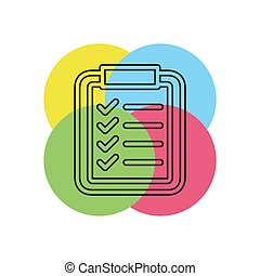 Product Listing concept line icon.