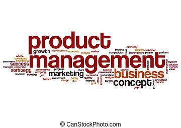 Product management word cloud concept