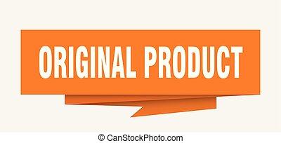 product, origineel