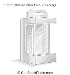 Product Package. - Vector, Illustration of a Produkt...