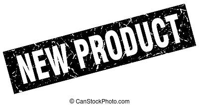 product, plein, grunge, postzegel, black , nieuw
