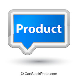 Product prime cyan blue banner button