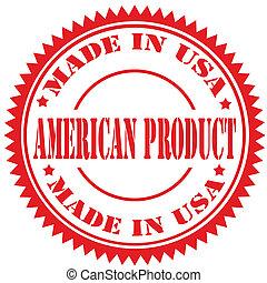 product-stamp, amerikaan