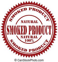 product-stamp, gerookt