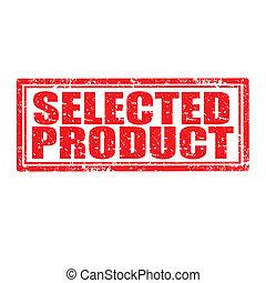 product-stamp, geselecteerde