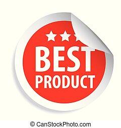 product, sticker, best, etiket