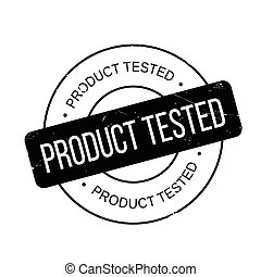 Product Tested rubber stamp