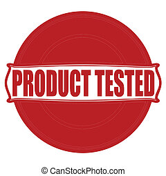 Product tested