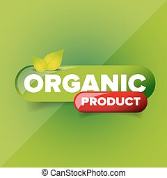 product, vector, organisch, knoop