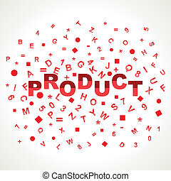 Product word with in alphabets