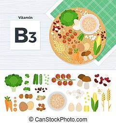 producten, vitamine b3
