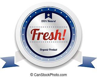 productetiket, kwaliteit, sticker, verkoop