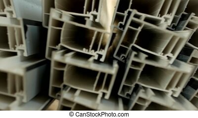 Production and manufacturing of frames and PVC windows, in...