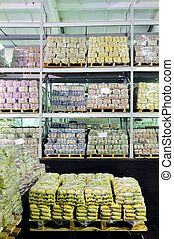 Production in warehouse
