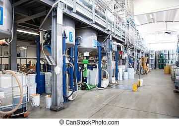 production, industriel, huile