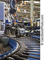 Production Line of MacPherson suspension
