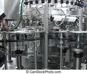 production of carbonated drink - Conveyor for the production...
