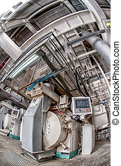 production of feed - Interior of automatic line for the...