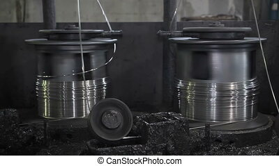 Production of metal wire