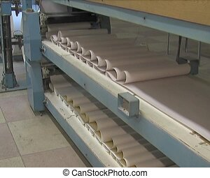 production of paper product - Plant for the production of...