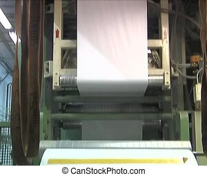 production of paper - Plant for the production of paper...