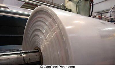 Production of plastic sheeting