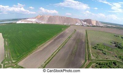 Production of potash fertilizers in