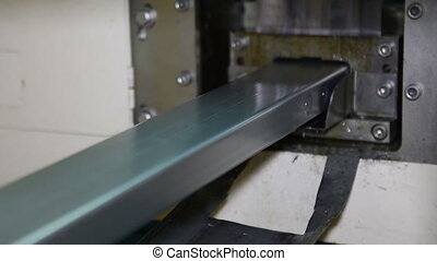 Production of steel profiles. - Production of steel profiles...