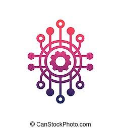production process icon