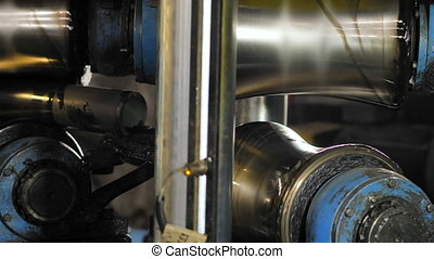 Production technology of metal pipes