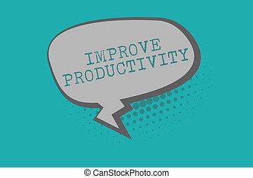 productivity., aumentar, empresa / negocio, foto, actuación, escritura, texto, tiempo, conceptual, entrada, mano, calidad, perforanalysisce, mejorar
